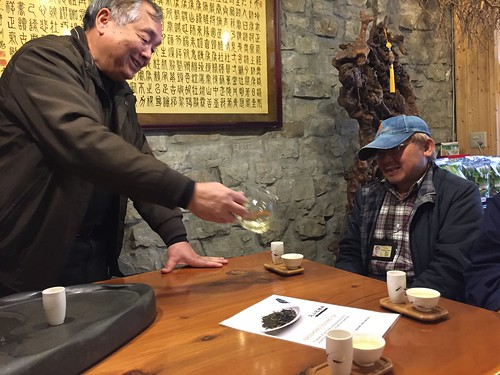 Green tea from a master. From Travel to Asia: A new understanding–Taiwan Tea