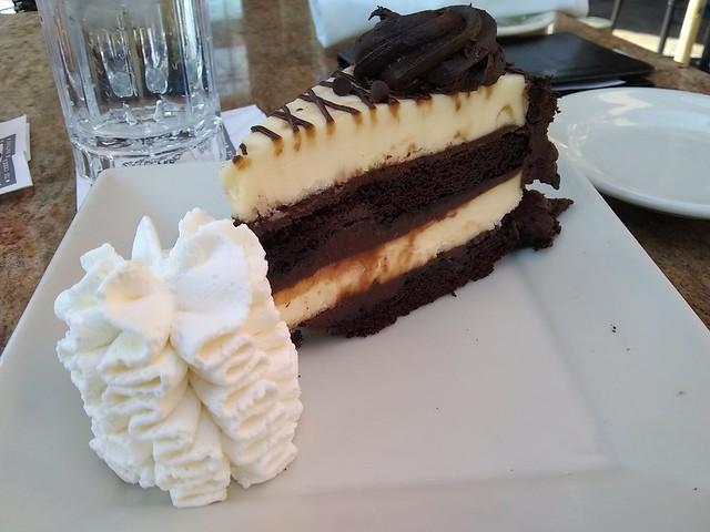 30th anniversary chocolate  cheesecake