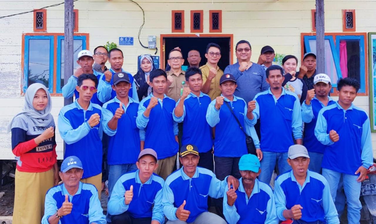 Monev Pemberdayaan Masyarakat di SM Kuala Lupak (03)