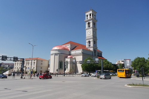 Cathedral of Saint Mother Teresa in Pristina, Kosovo