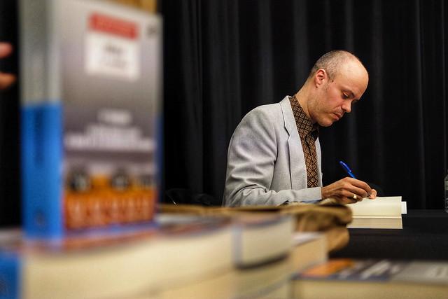 Eiríkur Örn Norðdahl a la Fira Literal 2019