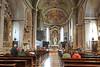 Trient, Renaissance-Kirche Santa Maria Maggiore, Anf. 16.Jhd., Sitz des Konzils von Trient