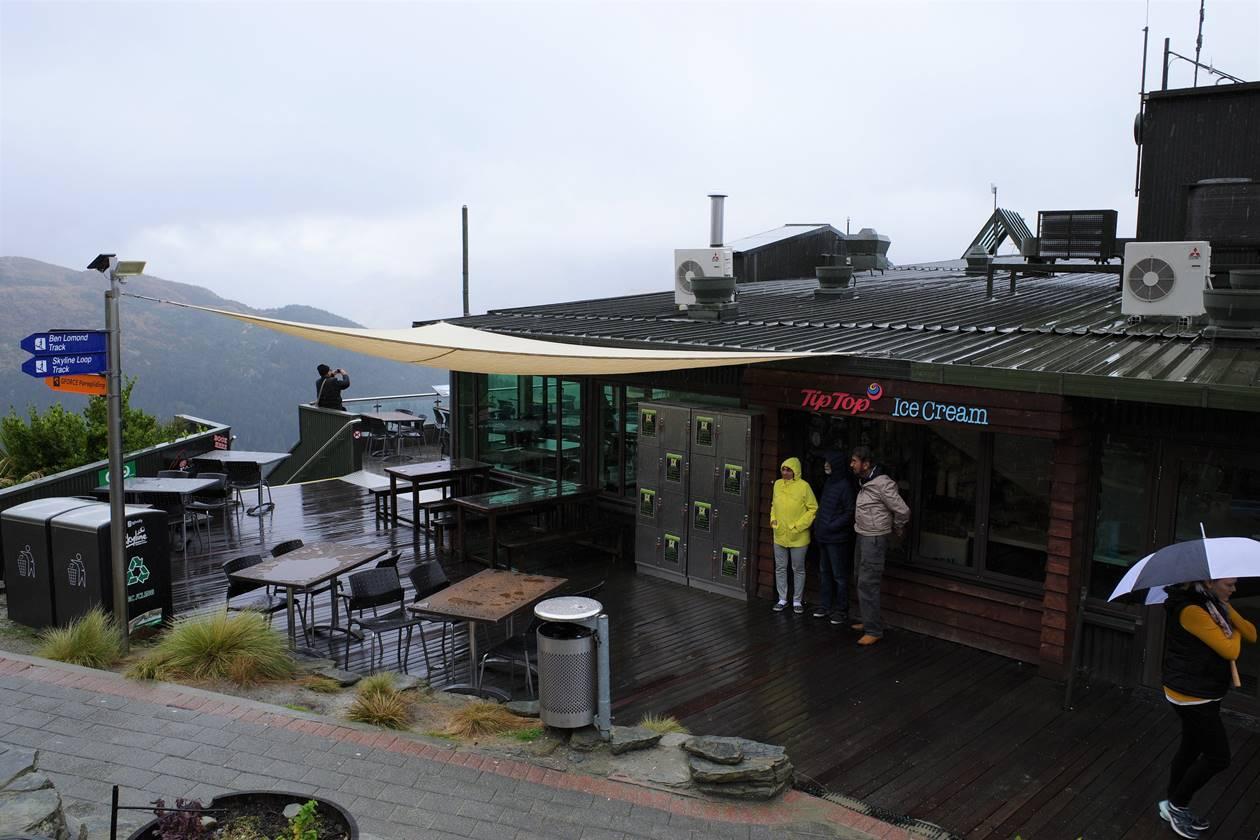 クイーンズタウン スカイライン山頂カフェ