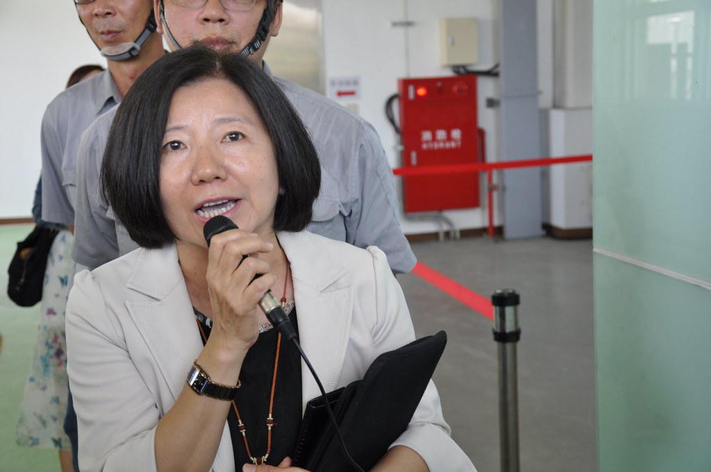 高雄市環保局副局長陳琳樺。孫文臨攝
