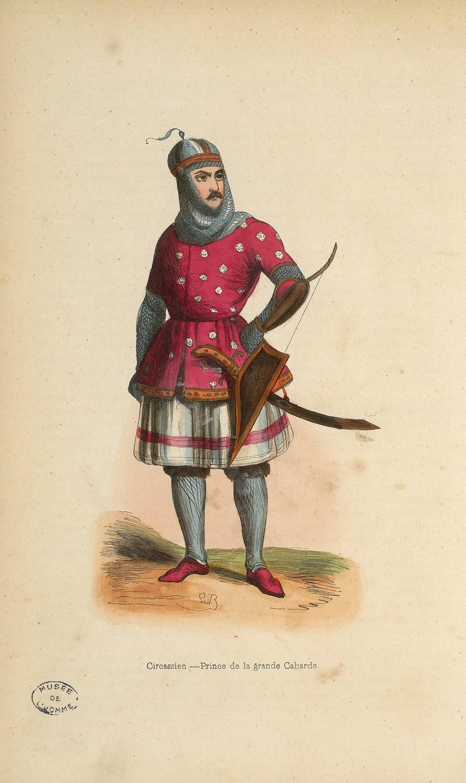20. Черкес. Кабардинский князь