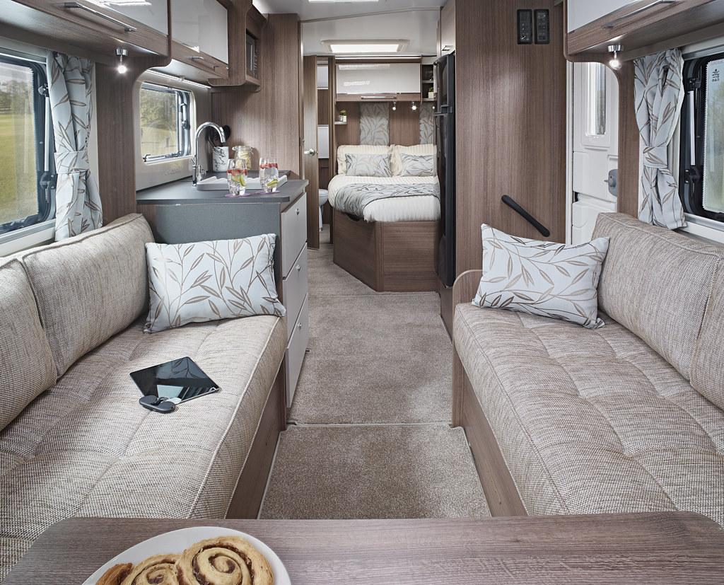Barcelona caravan Interior towards bedroom