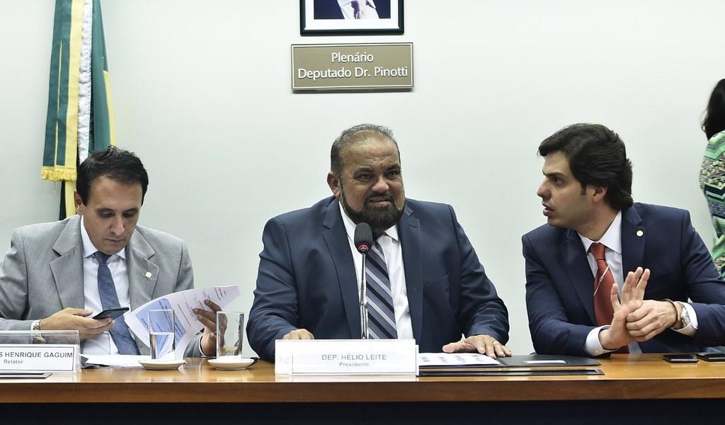 Hélio Leite eleito presidente da comissão especial do orçamento impositivo na Câmara, Helio Leite - presidente da comissão