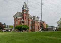Wyandot County Sheriff's Residence and Jail — Upper Sandusky, Ohio