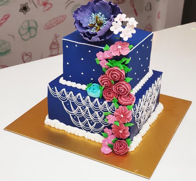 Wedding Cake by Riya Dedge