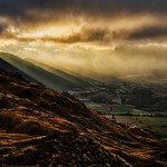 A moody view from Coronet Peak