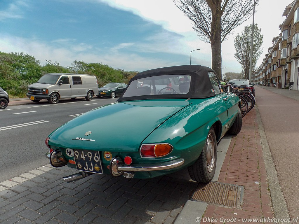 Den Haag, april 2019 | Alfa Romeo Duetto Spider (94-96-JJ ...
