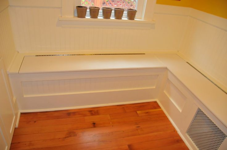 Diy Custom Kitchen Nook Storage Benches Simple But Nice Flickr