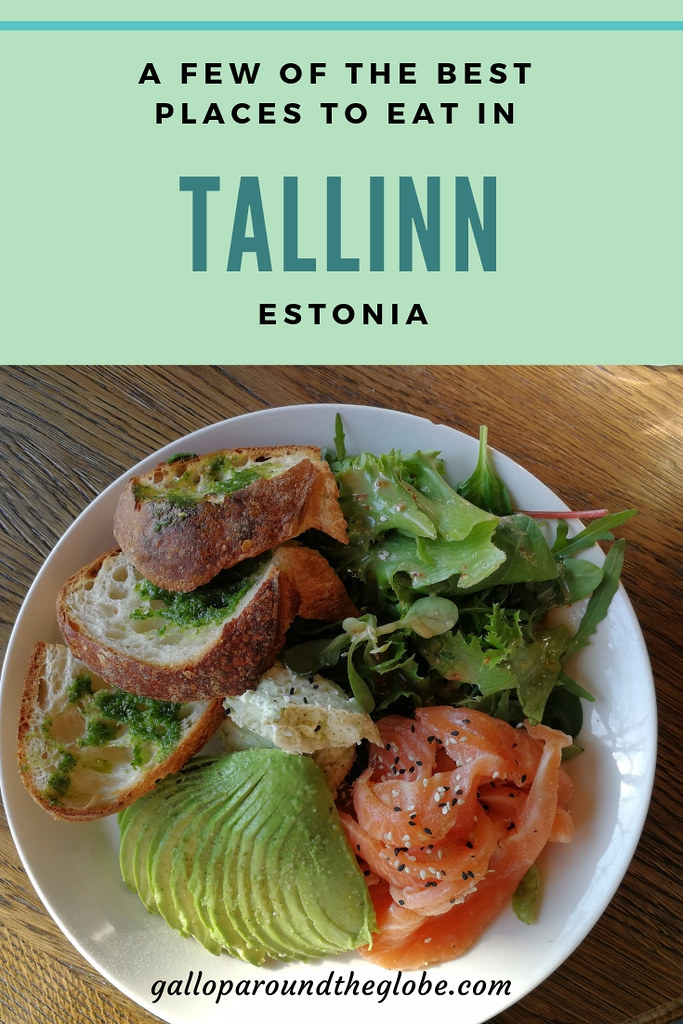 A Few of The Best Places to Eat in Tallinn, Estonia | Gallop Around The Globe