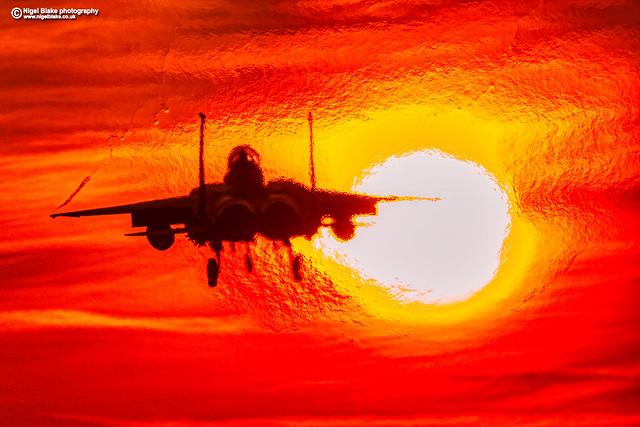F-15E Strike Eagle, Sunset