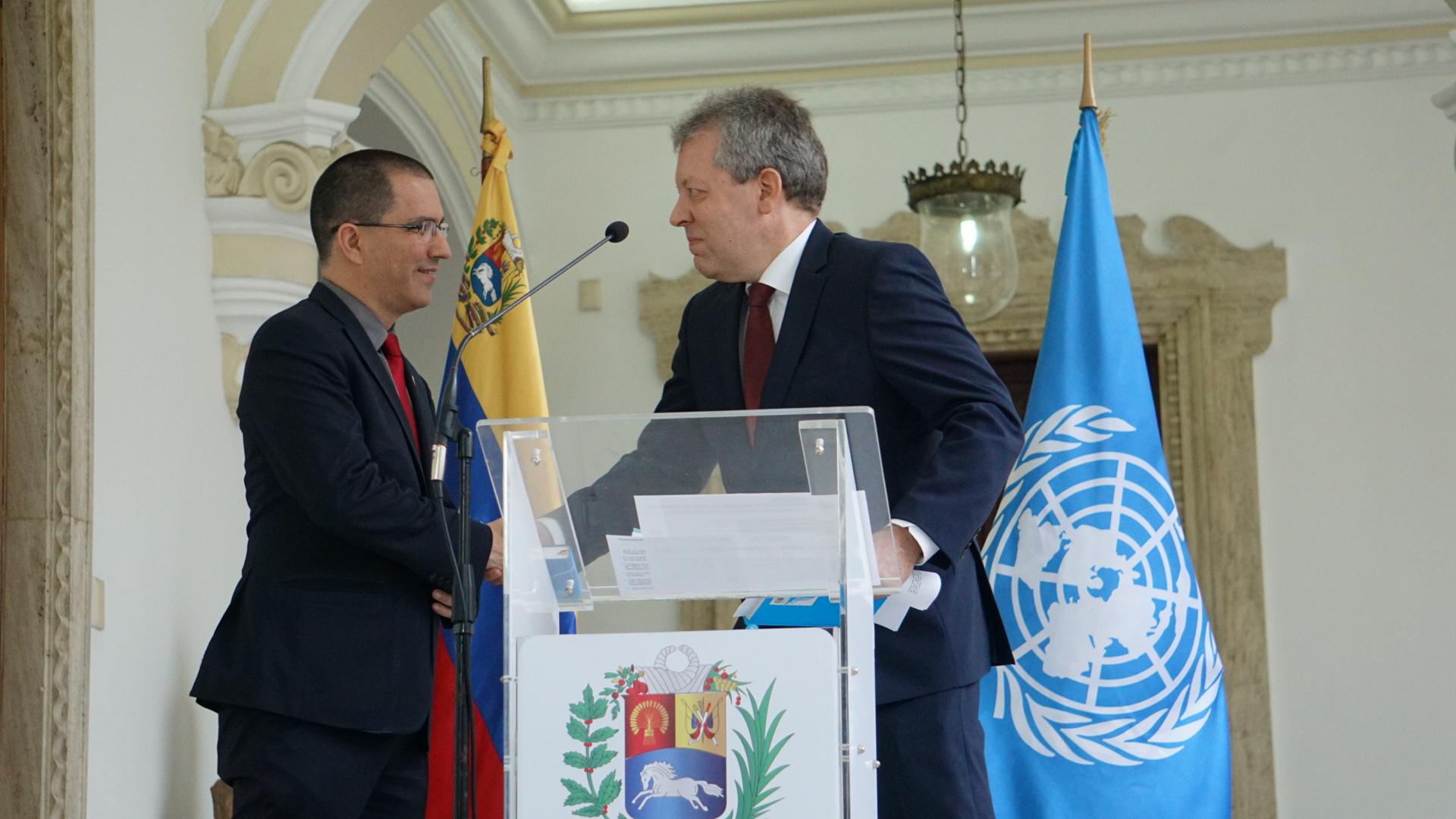Venezuela evalúa nuevas metodologías de trabajo con agencias de la ONU ante efectos nocivos del bloqueo estadounidense