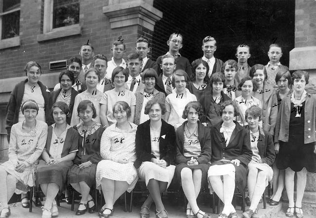 1929 or so - Bremen High School class