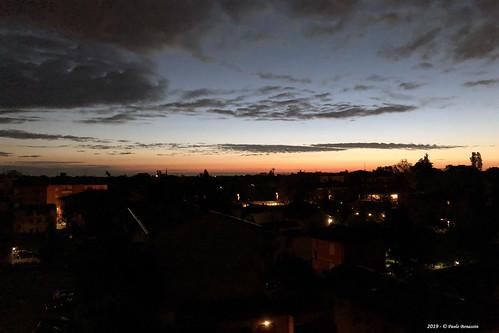 clouds nubi wolke sky dawn alba aurora