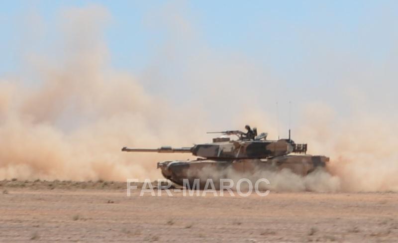 M1A1 SA ABRAMS Marocains / Moroccan M1A1 SA ABRAMS 47814905301_4159dae0fe_o