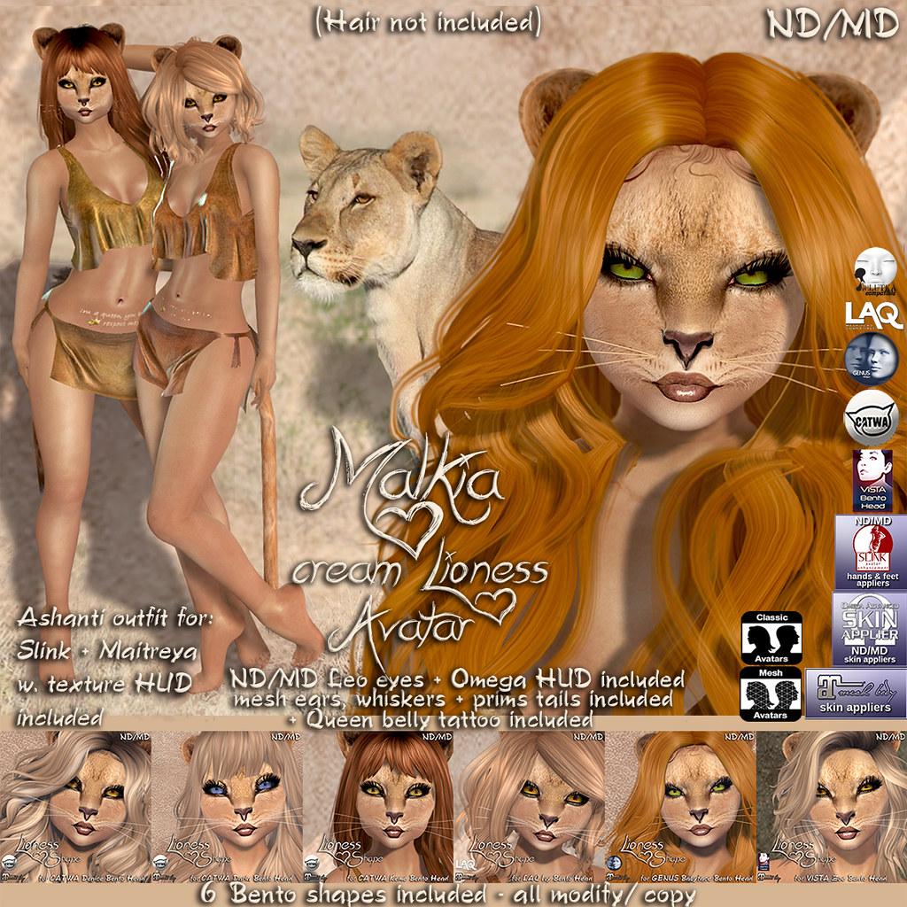Lioness Malkia cream
