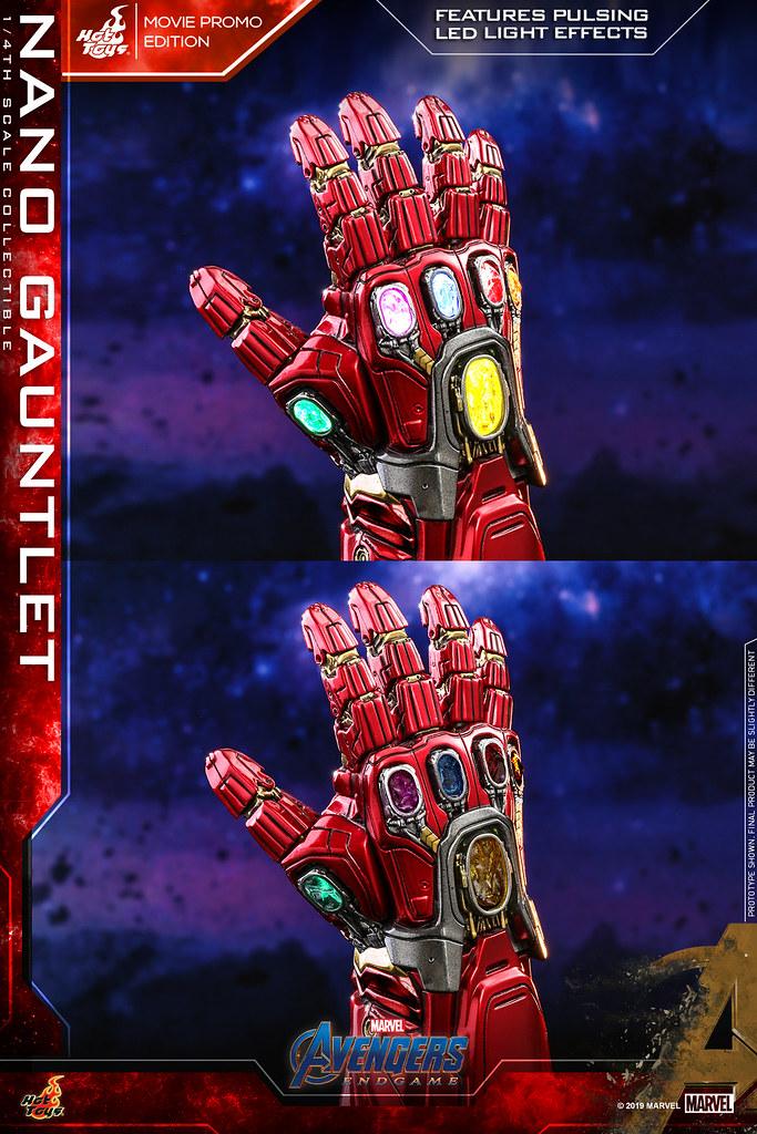 Hot Toys - ACS008 -《復仇者聯盟:終局之戰》1/4 比例 奈米手套 (電影宣傳版) Nano Gauntlet (Movie Promo Edition)