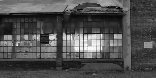 Gutted factory, Brockton Village, Toronto.