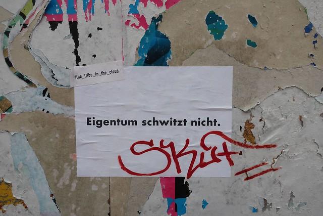 Eigentum ... / Ownership doesn't sweat.