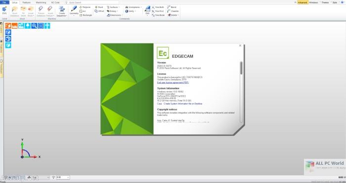 Working with Vero Edgecam 2020 full