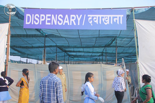 Ahlopathic dispensary in the Samagam venue