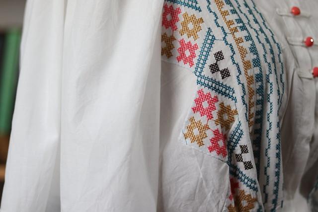 Détail blouse victorienne