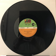 SLAVE:JUST A TOUCH OF LOVE(RECORD SIDE-A)