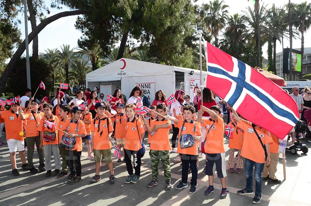 Norveç Milli Günü Alanya'da kutlandı