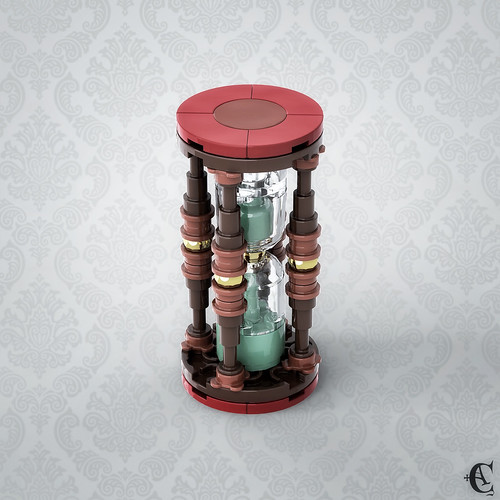 Antique Hourglass -  New version