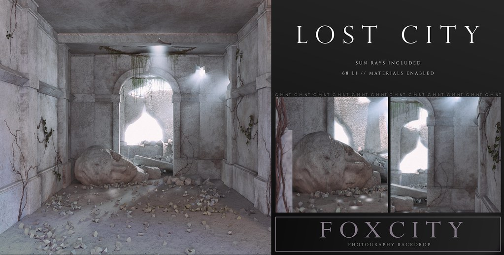 FOXCITY. Photo Booth – Lost City