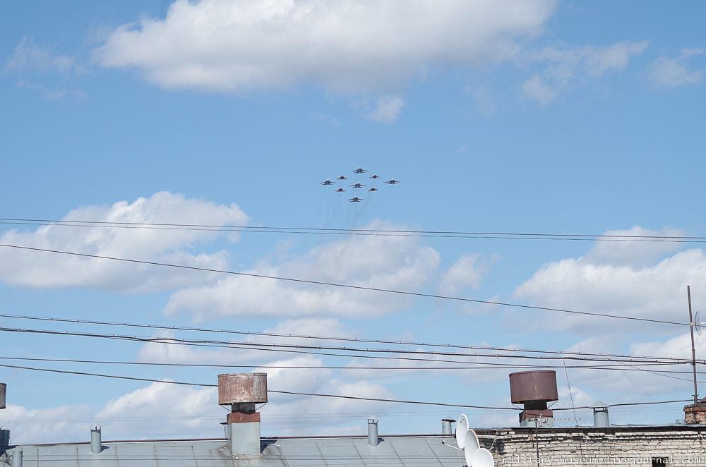 Подготовка к авиапараду 9 мая в Москве-63