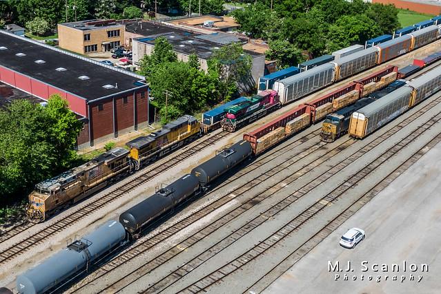 UP 7651 | GE AC45CCTE | CSX Memphis Terminal Subdivision