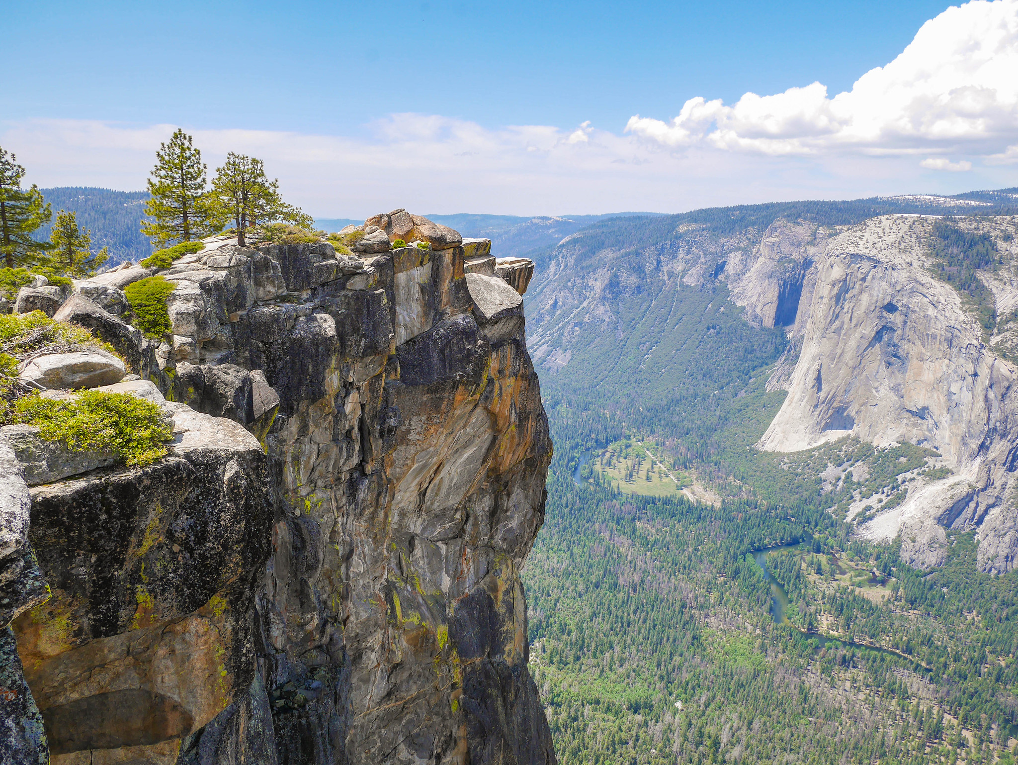 Taft Point all to myself! Amazing.