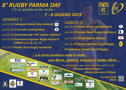 8° Rugby Parma Day - 7-8/06.19