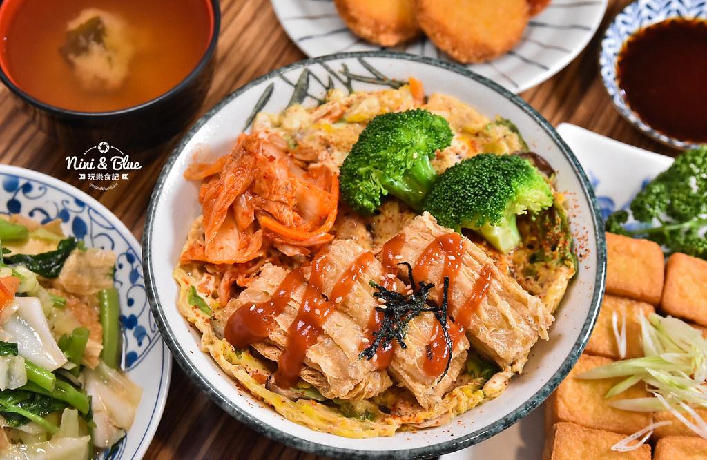 台中一中素食 滷菩提 中友素食 中國醫美食13