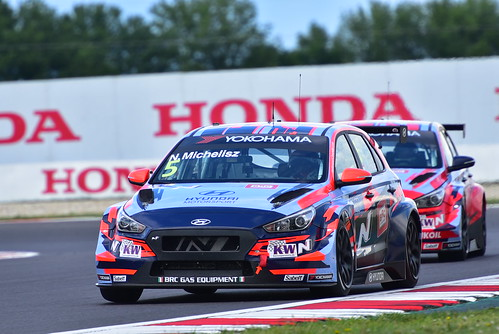 Norbert Michelisz, Hyundai i30 N TCR, FIA WTCR World Touring Car Cup, Slovakia Ring 2019