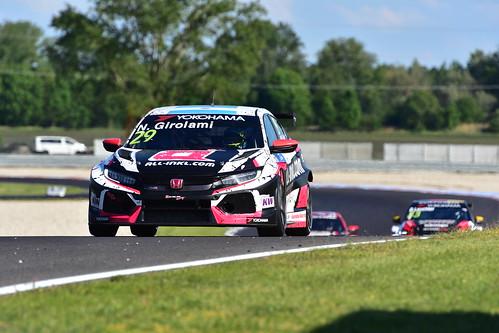Nestor Girolami, Honda Civic TCR, FIA WTCR World Touring Car Cup, Slovakia Ring 2019
