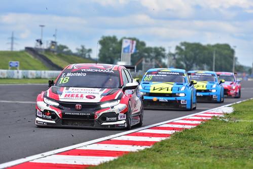 Tiago Monteiro, Honda Civic TCR, FIA WTCR World Touring Car Cup, Slovakia Ring 2019
