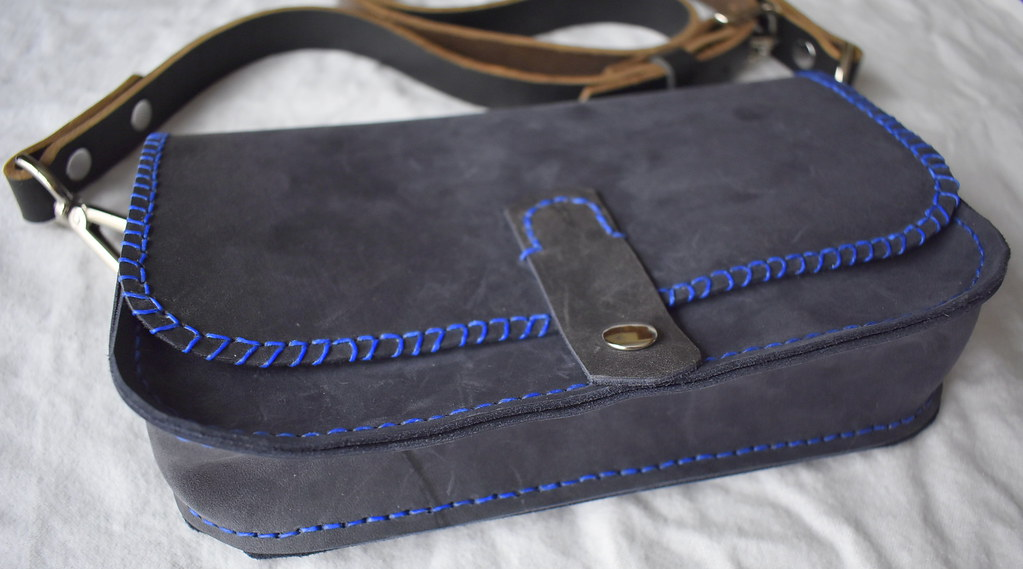 Sophia' Hand Stitched Leather Purse | Ann | Flickr