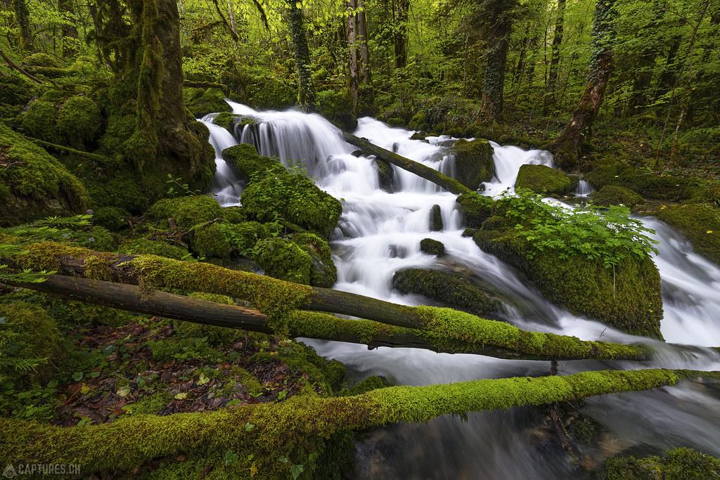 Waterfall 1 - Gorges du Pichoux