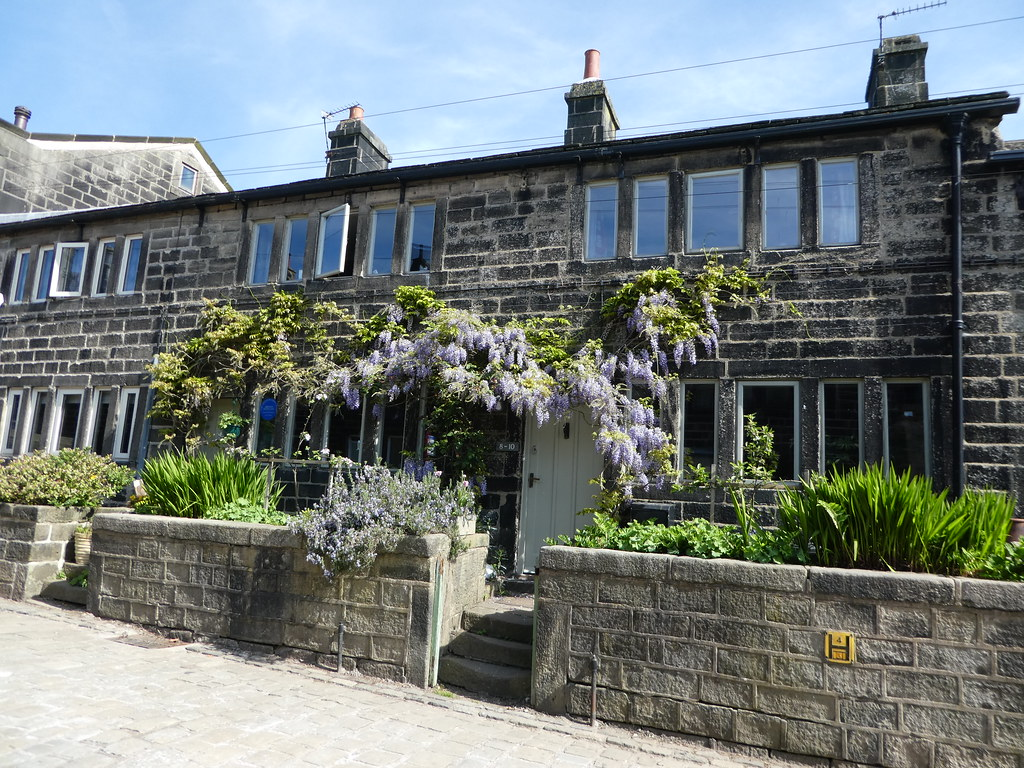 A typical cottage in the village of Heptonstall
