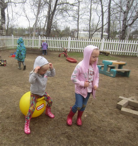 hoods and boots