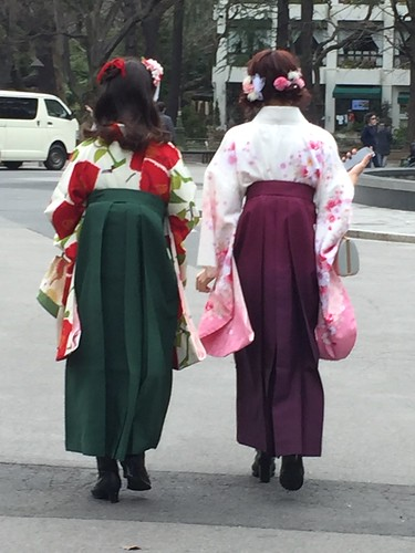Traditional dress: kimono with hakama. From Travel to Asia: A new understanding–Japan, the crowning jewel
