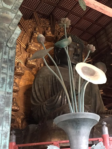Bronze Buddha Todai-ji. From Travel to Asia: A new understanding–Japan, the crowning jewel