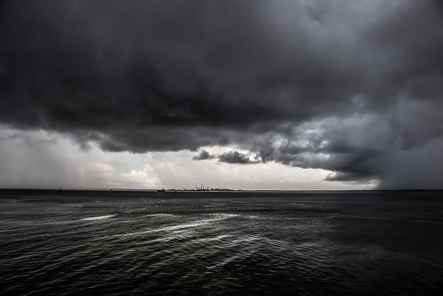 Monsoon, seen from Stokes Hill Wharf