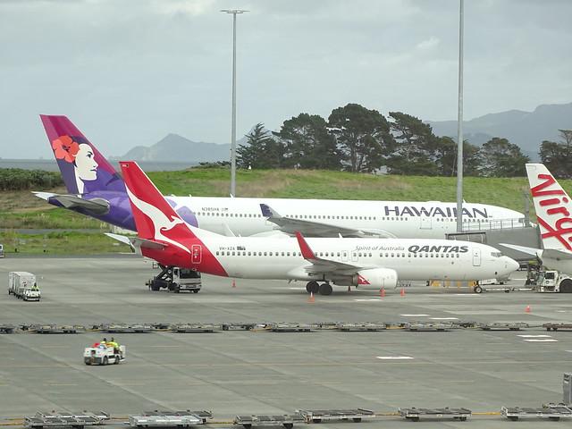 Qantas Boeing 737-800 VH-XZA