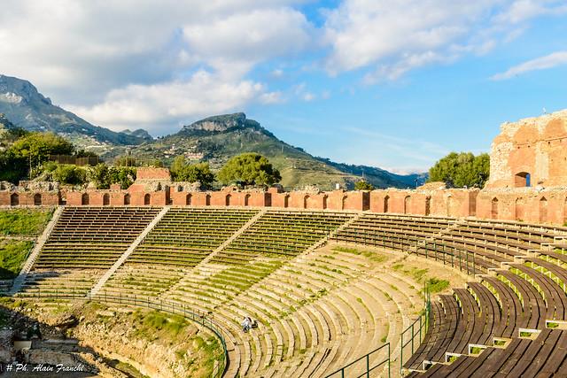 Sicile –Taormine – Le Théâtre